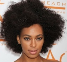 Emancipate your hair Solange Knowles
