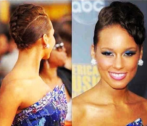 Wondrous Alicia Keys Hairstyles For Men Maxibearus