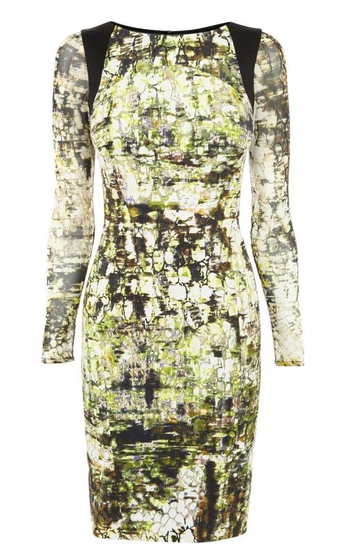 Karen Millen Croc Print Dress