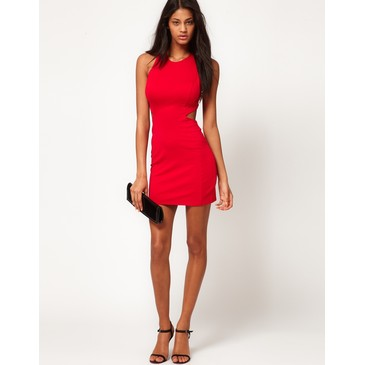 ASOS Mini Dress with Diamond Back