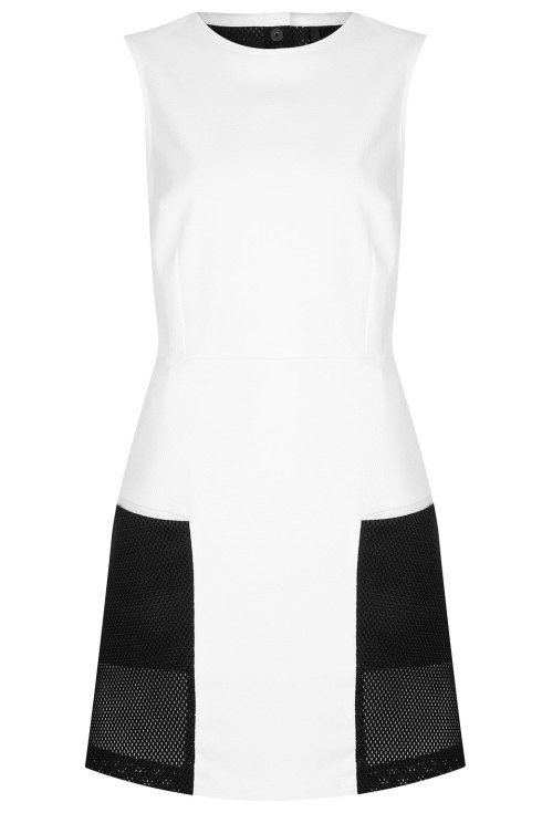 SPORTY MESH PANEL DRESS BY BOUTIQUE