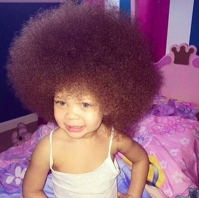 Baby Hairstyles For Curly Hair Baby afro