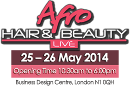 Afro Hair & Beauty Live Logo 2014