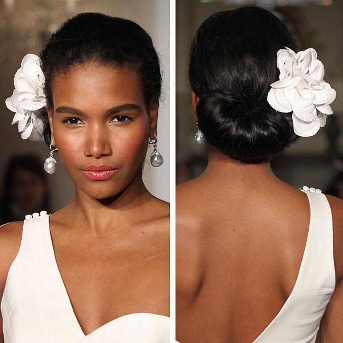 Awe Inspiring Natural Hair Brides Short Hairstyles For Black Women Fulllsitofus