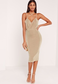 wrap-strappy-haltherneck-slink-dress